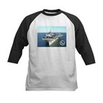 USS Constellation CV-64 Kids Baseball Jersey
