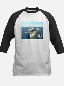 USS Constellation CV-64 Kids Baseball Jersey