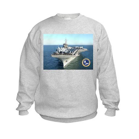 USS Constellation CV-64 Kids Sweatshirt