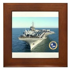 USS Constellation CV-64 Framed Tile