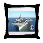 USS Constellation CV-64 Throw Pillow