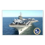 USS Constellation CV-64 Rectangle Sticker 10 pk)