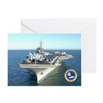 USS Constellation CV-64 Greeting Cards (Pk of 20)