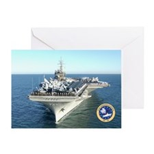 USS Constellation CV-64 Greeting Card