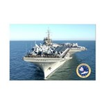USS Constellation CV-64 Mini Poster Print