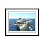 USS Constellation CV-64 Framed Panel Print