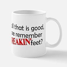 Point Your Feet Mug
