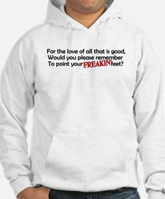 Point Your Feet Hoodie