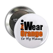 "Leukemia Mommy 2.25"" Button"