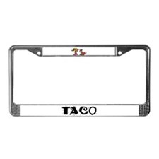 Cool Tacos License Plate Frame