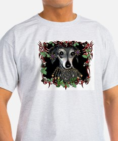 Tattoo Dog Ash Grey T-Shirt