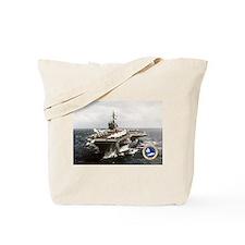 USS Constellation CV-64 Tote Bag
