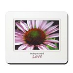 Pink Coneflower Mousepad