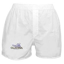 Funny Claudia Boxer Shorts