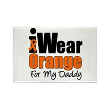 Leukemia Daddy Rectangle Magnet (10 pack)