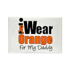 Leukemia Daddy Rectangle Magnet