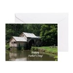 Mabry Mill Father's Day Greeting Card