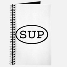 SUP Oval Journal
