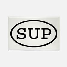 SUP Oval Rectangle Magnet