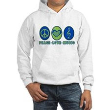 PEACE - LOVE - MUSIC Jumper Hoody