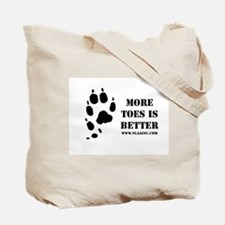 Cute Norwegian lundehund Tote Bag