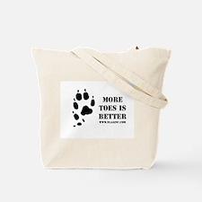 Cute Norwegian lundehund Tote Bag