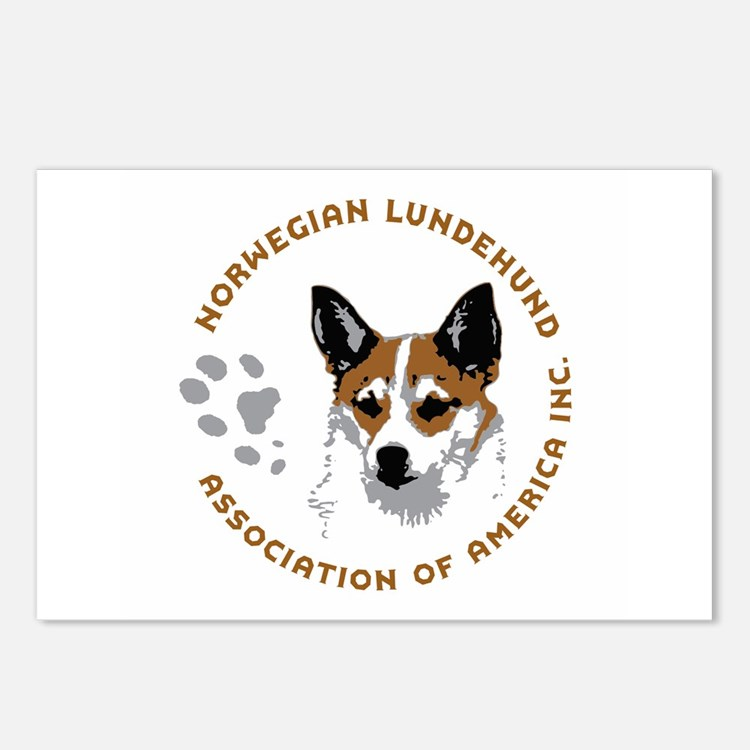Cute Lundehund Postcards (Package of 8)