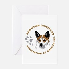 Cute Norwegian lundehund Greeting Cards (Pk of 10)