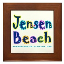 Jensen Beach - Framed Tile