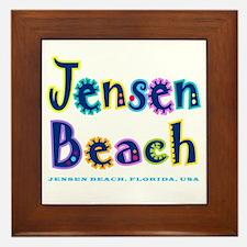 Jensen Beach - Framed Tile