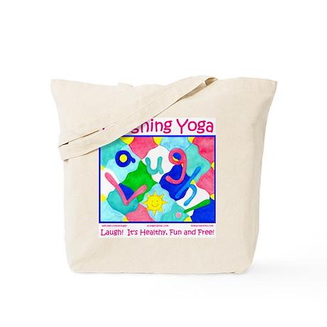 Laughing Yoga LAUGH Tote Bag