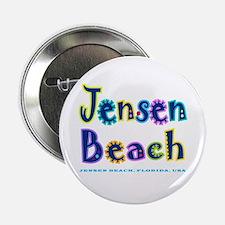 """Jensen Beach - 2.25"""" Button"""