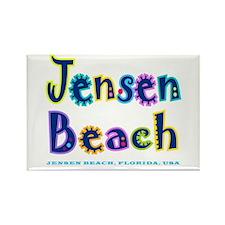 Jensen Beach - Rectangle Magnet