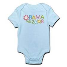 Obama Flowers Infant Bodysuit