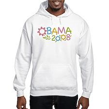 Obama Flowers Hoodie