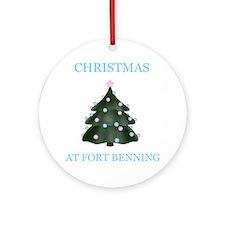 fort benning Ornament (Round)