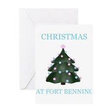 fort benning Greeting Card