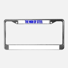 """""""The Man of Steel"""" License Plate Frame"""