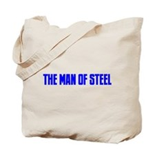 """The Man of Steel"" Tote Bag"