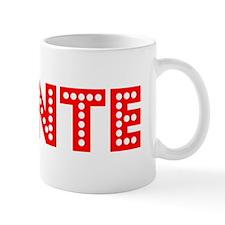 Retro Donte (Red) Mug