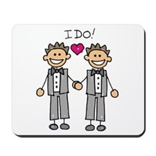 Gay Marriage - I Do Mousepad