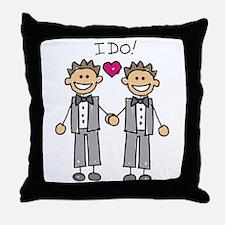 Gay Marriage - I Do Throw Pillow