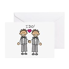 Gay Marriage - I Do Greeting Cards (Pk of 10)