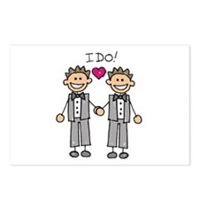 Gay Marriage - I Do Postcards (Package of 8)