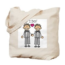 Gay Marriage - I Do Tote Bag