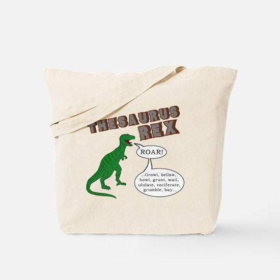 Thesaurus Rex Tote Bag
