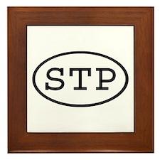 STP Oval Framed Tile