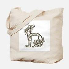 """H"" - Celtic Letters Tote Bag"