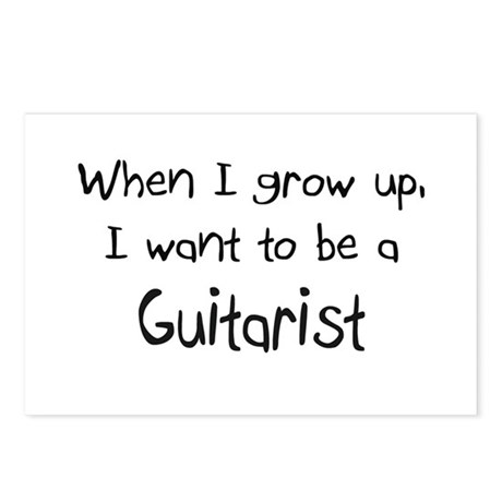 When I grow up I want to be a Guitarist Postcards
