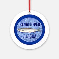 Kenai, Alaska, Alaskan Ornament (Round)
